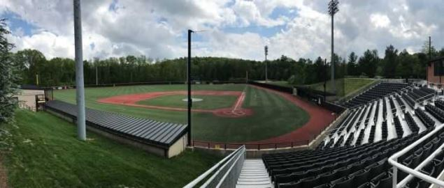 App State's Beaver Field at Jim and Bettie Smith Stadium, looking south from the stands.