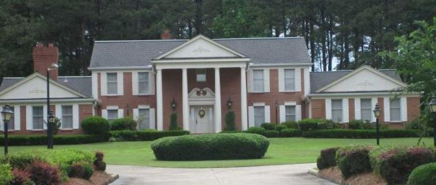President's Home at Grambling State University.