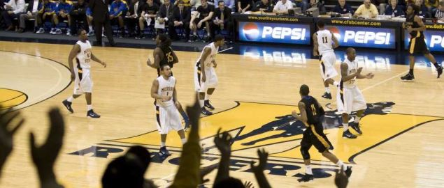 Murray State home basketball game in 2011.