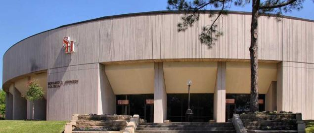 Bernard G. Johnson Coliseum, on the campus of Sam Houston State University.